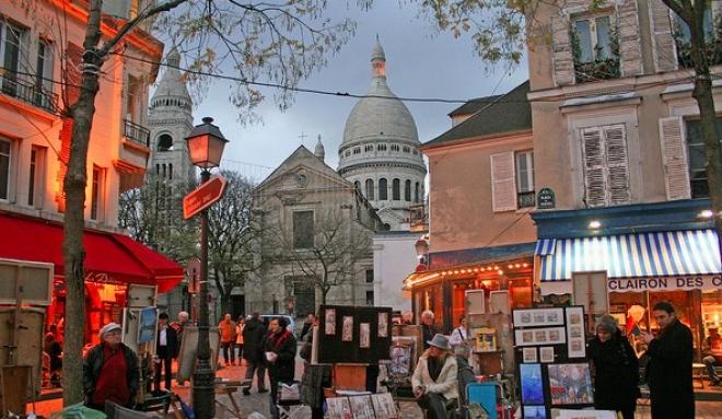 Montmartre e il quartiere degli artisti a parigi prenota for Quartiere moderno parigi