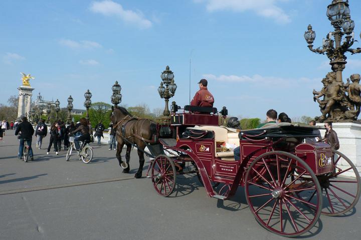 Carrozza Letto In Inglese : Giro romantico di parigi in carrozza con partenza da tour eiffel